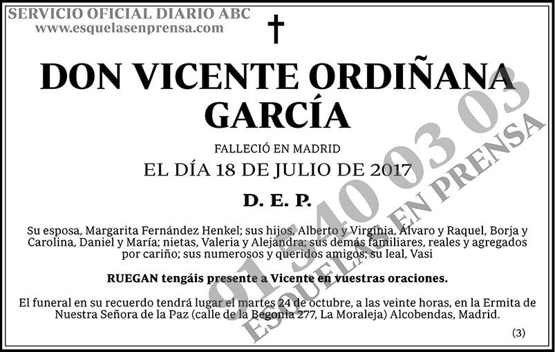 Vicente Ordiñana García